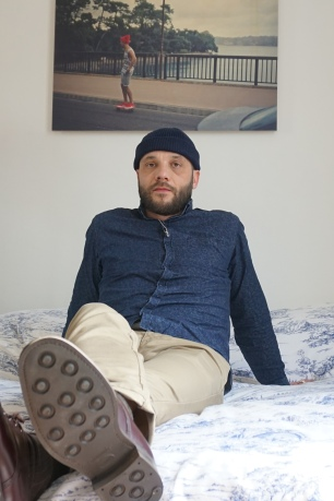 Bonnet Tenue de Saison - chemise Bill Tornade - pantalon Carhartt