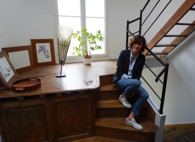 Veste Sandro - Chemise Zara - Jean The Kooples - Baskets Les Petites