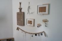 Portes bijoux fabriqués par Laura