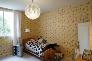 "Chambre de Prudence - Papier peint Sanderson - collection ""Fifties"""