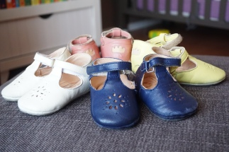 Chaussures Easy Peasy (marque française cuir naturel)