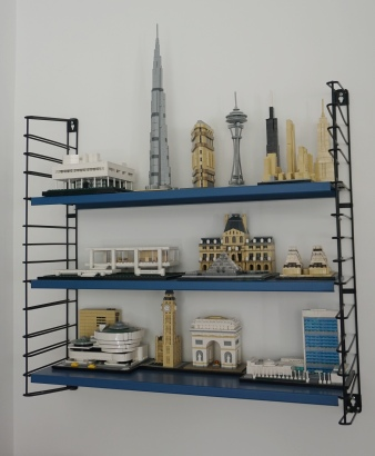 Les oeuvres en Lego de Steeve